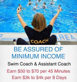 Kids Swim Coach As A Career