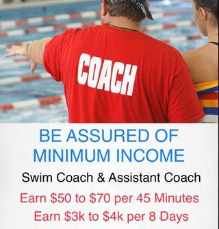 Swimming Coach For Kids & Adults as a Career