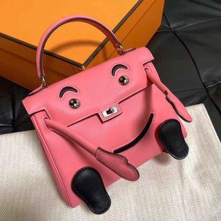 Rare! Hermes Kellydoll Pink
