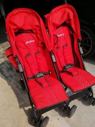 Halford Twin Stroller