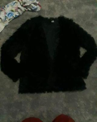 H&m furr jacket