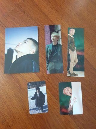 Btob korea album bookmark &pc
