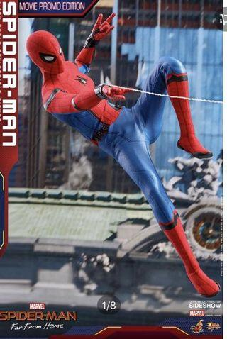 Hot toys Spider Man Far From Home Movie Promo