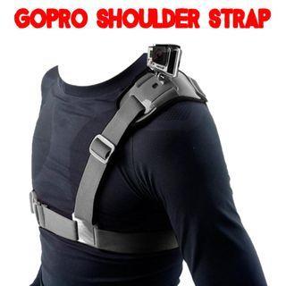 TGP054 Adjustable Shoulder Strap Mount Belt (Gopro Hero Session Xiaoyi Sony)