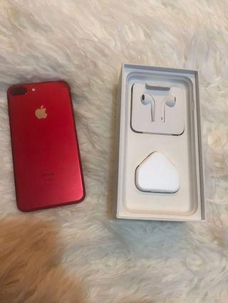 iPhone 7+ 256gb Red Edition