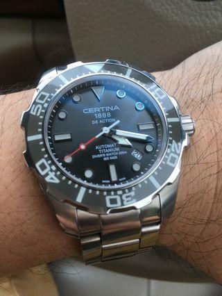 Certina DS Action Diver Titanium