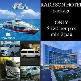 CHEAPERS WEEKEND RADISSON HOTEL