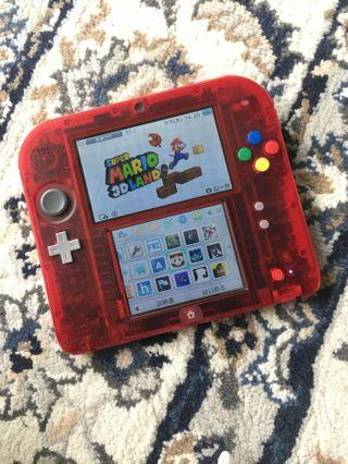 2DS Pokemon Pocket Monster Red Limited Edition