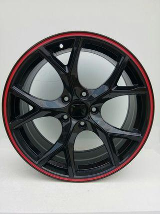 18X8.0 5X114.3 ET45 one set with tyre! Taiwan
