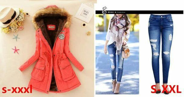 (2in1)winter jacket/pants