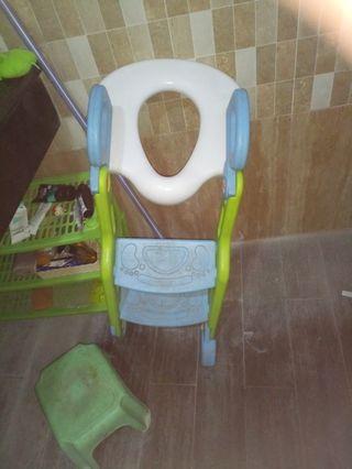 Tangga ke toilet