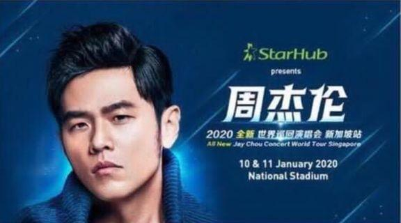 Best Price !!! JAY CHOU WORLD CONCERT SINGAPORE !!!