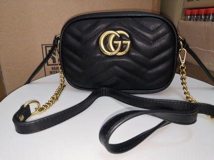 Gucci camera pu leathet bag