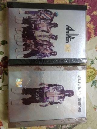Bigbang alive albums BIGBANG&GD ver