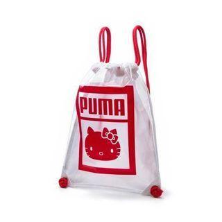 全新PUMA*Hello Kitty束口袋,後背包