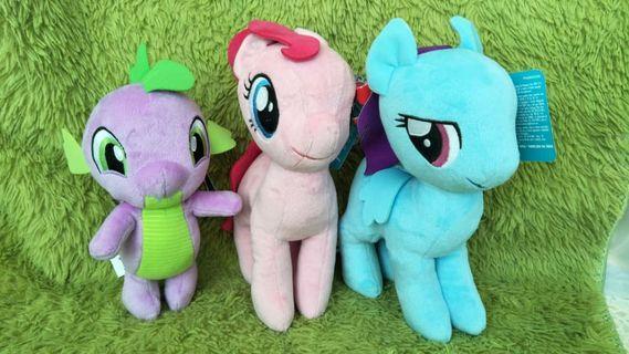 Pony soft toys