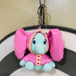 迪士尼 Disney 小飛象Dumbo 鑰匙圈吊飾/雨衣款