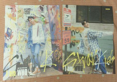 WTS Stray Kids I Am Who Lyric Poster