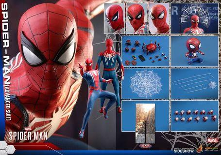 WTS Hot Toys Spider-Man Advanced Suit