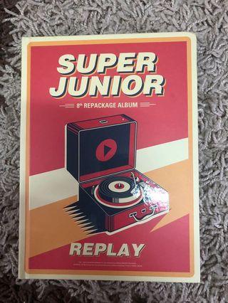 {WTS} SUPER JUNIOR 8th REPACKAGE ALBUM(REPLAY)