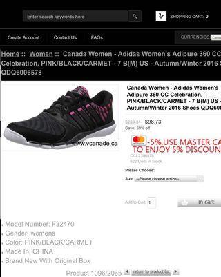 [adidas] adipure black pink motif