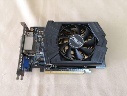 ASUS GTX750 Ti 2GB 128BIT  GDDR5 NVIDIA GeForce GPU DDR5 GTX 750 Ti GTX750TI-PH-2GD5 GC