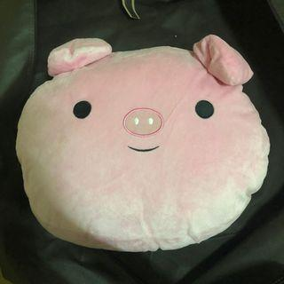 粉紅小豬暖手枕