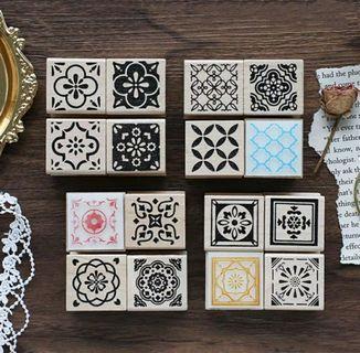 [PO]Morroco tiles stamps