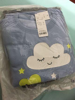 Fleece印花套裝組