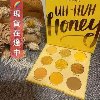 🔥現貨在途!Colourpop 蜂蜜盤 Uh huh Honey 盤 黃色盤