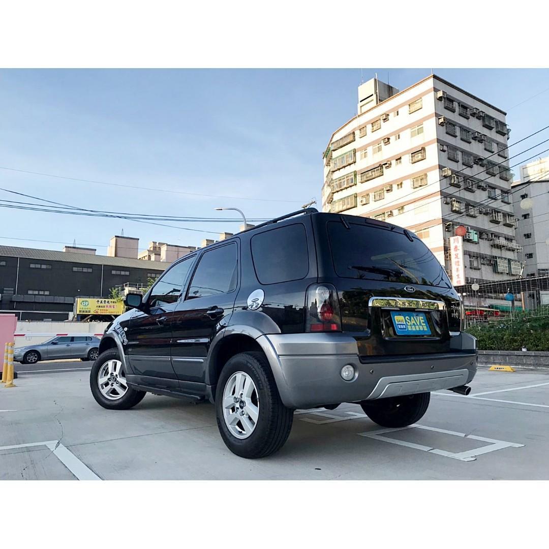 2006年 FORD ESCAPE 2.3 4WD 前車主超顧車 買到絕對賺到 9成9新米其林輪胎