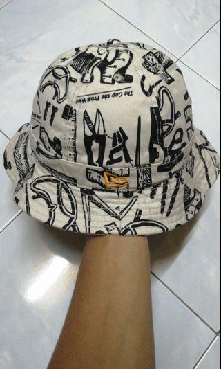 New era bucket hat topi