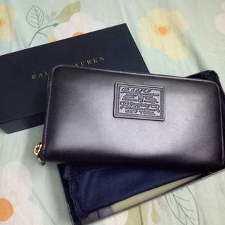 Ralph Lauren Black Long Wallet