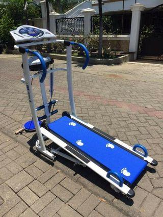 Alat Fitness Alat Olahraga Manual Treadmill Fs 728