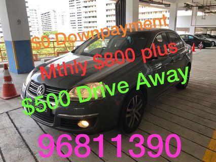 Volkswagen Jetta 1.4a Tsi new 5year Coe  Auto