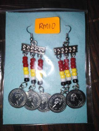 Handmade Dayak Bidayuh Earrings