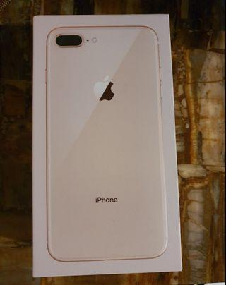 Iphone 8 plus 256gb gold color. Perfect condition.