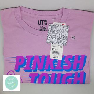 UNIQLO x BT21 Cooky Pink XS S M/ BT21 Black M / Tata White M
