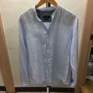 ZARA 薄襯衫外套 -男S號