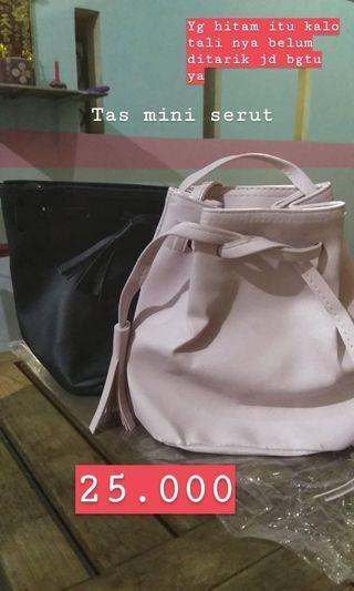 Bucket Bag, tas , take all 45.000
