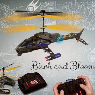 HASBRO - TRANSFORMERS RC HELICOPTER / MAINAN PESAWAT REMOTE CONTROL