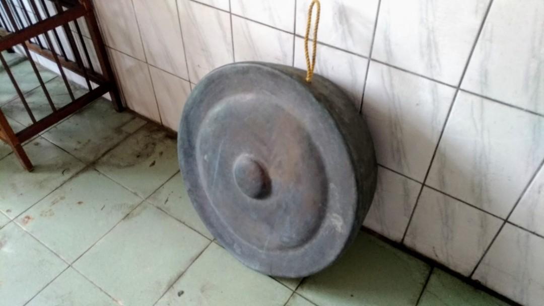 手工大銅鑼—古物舊貨、早期民藝、老臺灣手工銅件樂器