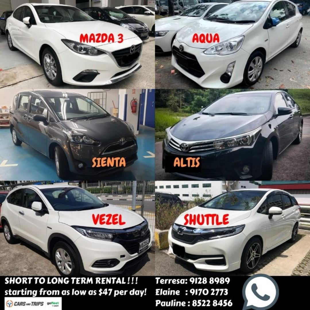 🔥🔥 Gojek Car rental cheap petrol to hybrid