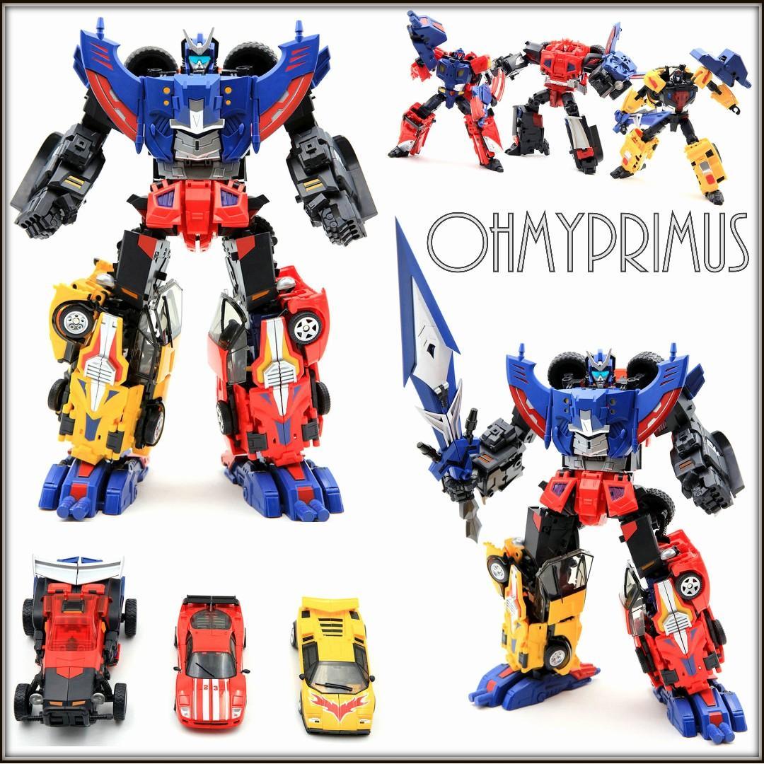 New Transformers TFC Toys TF-01 Raging Bull Road Caesar Figure In Stock