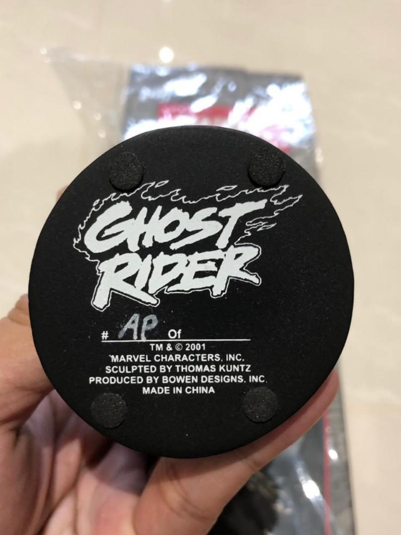 Artist Proof Randy Bowen Ghost Rider bust toy statue