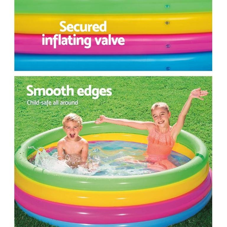 Bestway Inflatable Kids Pool Swimming Pools Round Family Pools