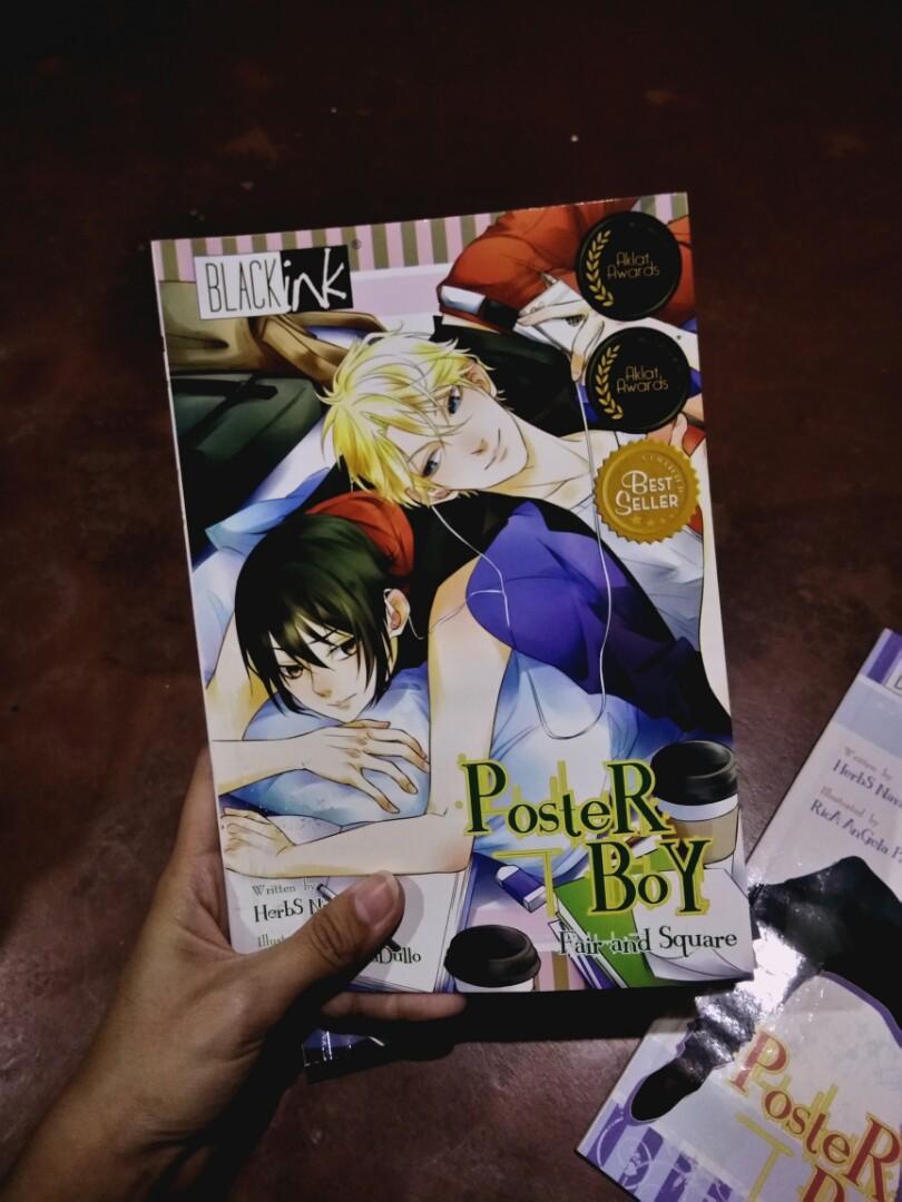 BlackInk BL Manga— Poster Boy, His Lifeline, Tagila, Captured, Andy is Andrei, Shortcuts Vol.24