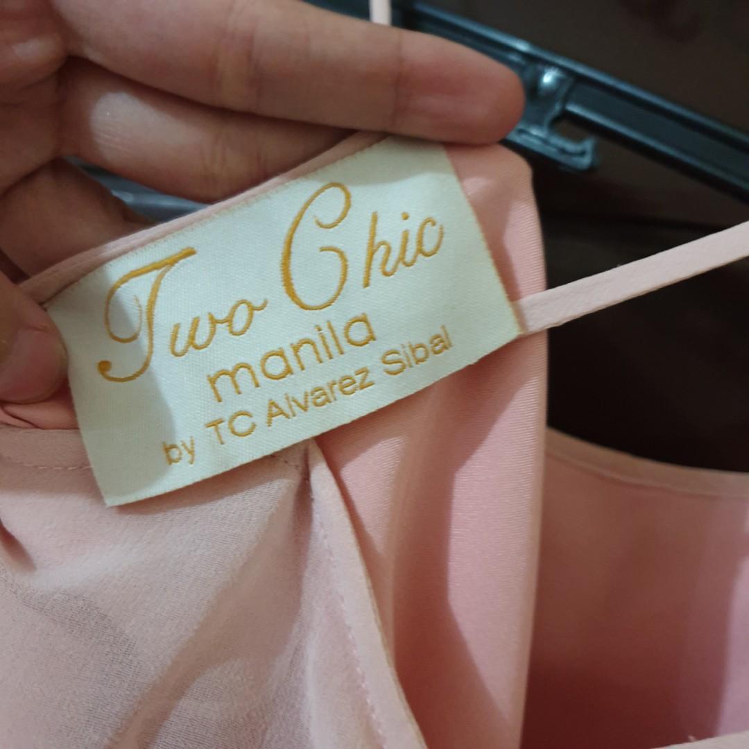 Blush Pink Long Dress (Formal)