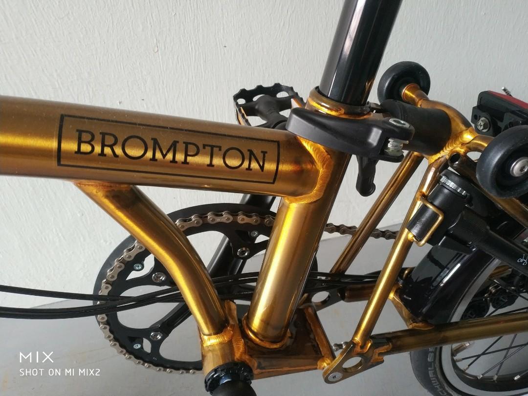 Brand new Brompton Lion City S6L
