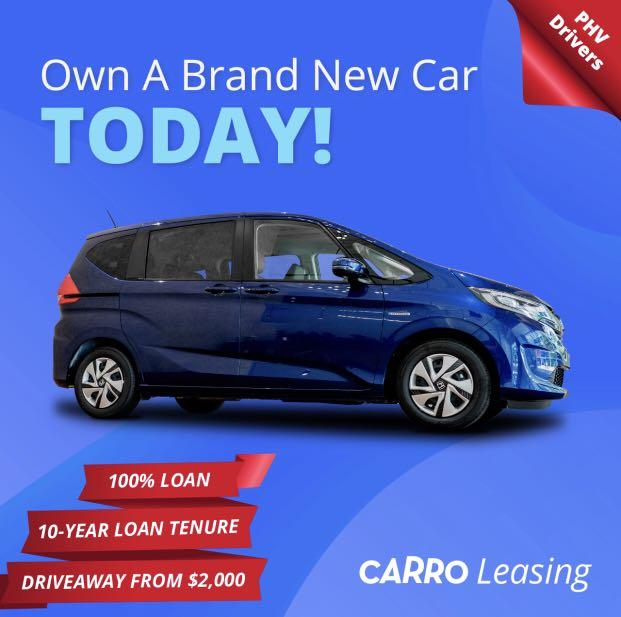 Brand New [HONDA FREED HYBRID] with 0% Downpayment